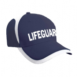 BONDI LIFEGUARD NAVY & WHITE CAP